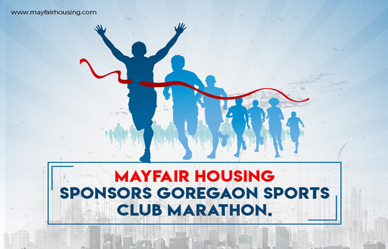 Mayfair Housing Sponsors Goregaon Sports Club Marathon