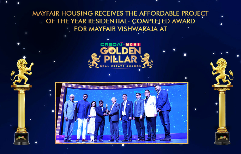 Mayfair Housing wins the Golden Pillar Award